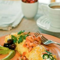 Low Carb Cheese Burrito Omelet Wraps Recipe - Key Ingredient