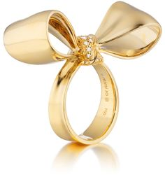 Mimi So New York Gold Bow Ring
