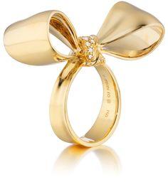 Mimi So New York Gold Bow Ring
