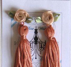 Tassel ear plugs breakfast at Tiffanys Vintage by talulahblue, £6.50 @Sue Gifford Folk