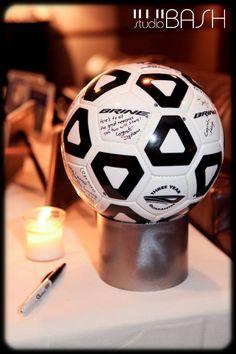 Soccer wedding theme