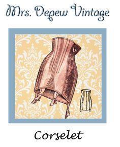 French Corselet Sewing Pattern PDF in Multiple sizes!