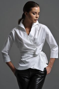 The Perfect White Shirt - By The Shirt Company - Avalon & Kelly ...