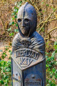 Walking 'The Mercian Way' through Wyre Forest