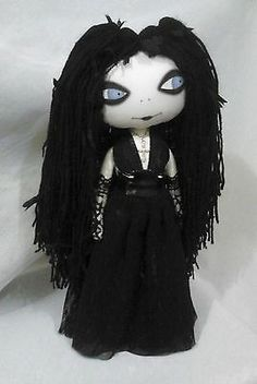 Gothic Art Rag Doll - Ket...