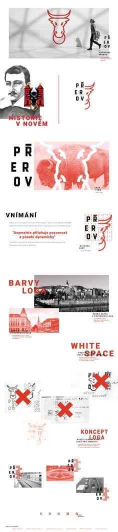 Rebranding concept for City of Přerov