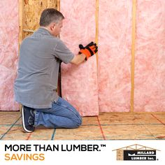 Are you experiencing drafts, cracks, leaks or high energy costs? Visit Millard Lumber today to discover insulation, windows, doors and roofing that will help you keep more money in your pocket.