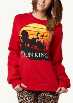 Lion King Retro Sweatshirt   rue21. I need it.