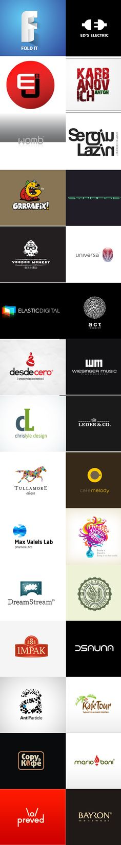 Increase your creativity with these logo inspiration! :)