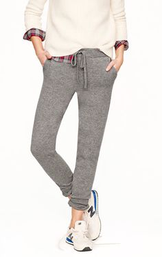 cashmere sweatpant. yes please