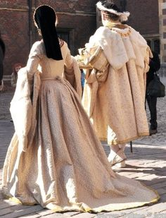 Costumes by Past Pleasures for Hampton Court.