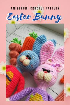 Easter Crochet Patterns, Amigurumi Patterns, Gifts For Newborn Boy, Handmade Crafts, Handmade Ideas, Diy Easter Decorations, Crochet Baby Clothes, Stuffed Toys Patterns, Fun Crafts