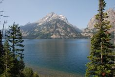 Jenny Lake. One of the most beautiful, reverent places on earth.It is absolutely stunning. Words can not describe it, & very few are spoken here.