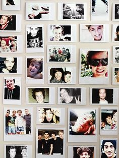 Wouldn't that be so cute just to have a wall in your future home full with pictures like this?