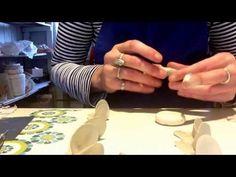How to Make a Bone China Clay Rose
