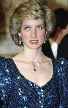 REPORT: Princess Diana's Blue Sequined Dress to be Sold at Auction for $145K