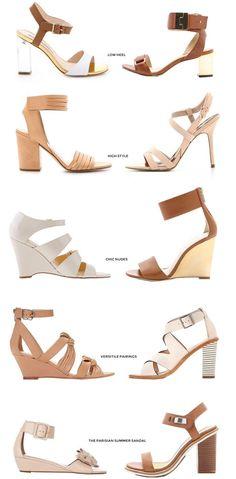 Sandals :    Parisian Summer Sandals | Damsel in Dior  - #Sandals https://talkfashion.net/shoes/sandals/sandals-parisian-summer-sandals-damsel-in-dior/