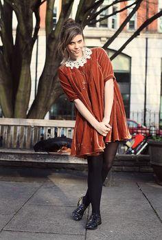 Cutest Velvet Dress, #fashion, #dress