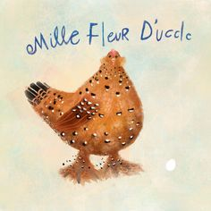 Mille Fleur D'uccle fine art print · the john and jana shop · Online Store Powered by Storenvy