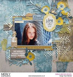 Favourite Snapshot layout with Antiquities (Merly Impressions) Cruise Scrapbook, Kids Scrapbook, Scrapbook Page Layouts, Scrapbook Stickers, Scrapbook Albums, Scrapbook Cards, Mixed Media Scrapbooking, Scrapbooking Ideas, Creative Memories
