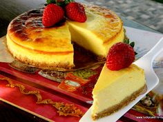 Classic Cheesecake Lucky Cake, Classic Cheesecake, Ice Cream Recipes, Desert Recipes, Nutella, Biscuit, Sweet, Desserts, Food