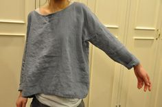 tunic shirt in linen