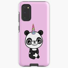 """""""Cute Unicorn-Panda """" Case & Skin for Samsung Galaxy by jakezbontar   Redbubble Samsung Cases, Samsung Galaxy, Phone Cases, Cute Unicorn, Protective Cases, Panda, Finding Yourself, Wraps, Iphone"""
