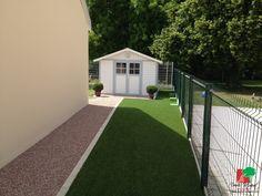Camino de jardín | Estabilizador de grava | Alvéostar® | Césped artificial | DM Green®