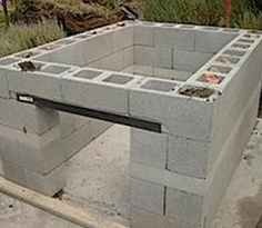 How To Build An Outdoor Kitchen. ~ Maybe Iu0027d Use This One Since