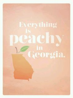 Peachy in Georgia