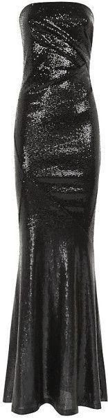 Donna Karan New York Ombre Sequin Gown - Lyst