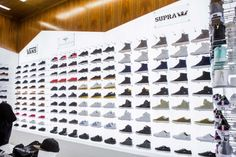 Shoe Palace Store Interior by Double Europe, San Jose, California 6