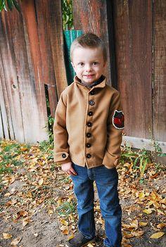Shwin&Shwin: New Pattern for a boys Jacket!
