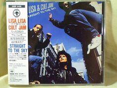 CD/Japan- LISA LISA & CULT JAM Straight To The Sky w/OBI RARE 1989 25DP-5426 #FunkElectricHouse
