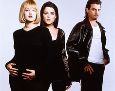 Drew Barrymore, Neve Campbell and Skeet Ulrich (Scream)