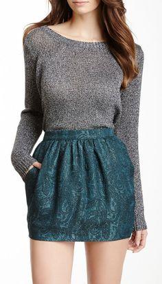 525 America Lurex Long Sleeve Sweater 525 America pays us 9.9% cash back. www.dubshopping.com