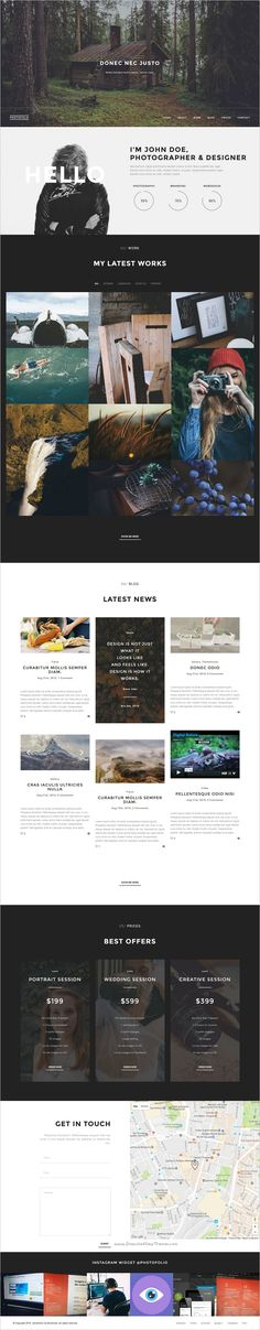 Photofolio is a awesome Photography & #Portfolio #WordPress theme for digital agency, freelancer portfolio or #photographer website with 11 homepage variations download now➩  https://themeforest.net/item/photofolio-photography-portfolio-wordpress-theme/18329123?ref=Datasata