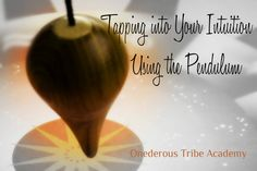 """This course covers everything from how to select a pendulum that is right for you all the way to using this amazing tool to answer complicated and """"deeper meaning"""" kinds of questions!"""