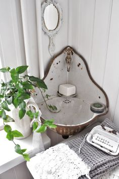 For the small washroom or outside...
