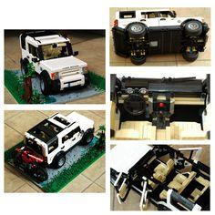 Andrej Kuzmin's Land Rover LR3 . (lego.gizmodo.com)