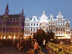 Grote Markt, Brussels, Belgium - 29-12-13
