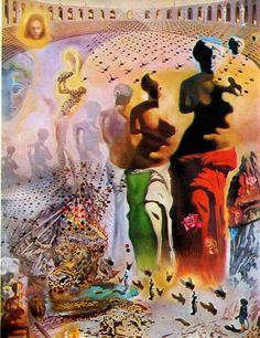 Hallucinogenous Bullfighter. Salvador Dalí Museum, St Petersburg, Florida.