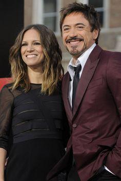 Robert Downey Jr. + Susan Downey