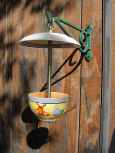 Teacup Birdfeeder | Accordingtoleanne's Blog