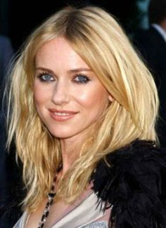 Got fine, straight, long hair like Naomi Watts? Don't listen to silly hairdressers who want to layer it.
