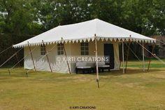 Handmade Swiss Cottage Tent