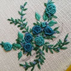 "169 Likes, 7 Comments - Yasemin (@pembe_kaktus) on Instagram: "" #embroiderydesign #embroideryhoop #embroidery #kurdele #ribbon #carpiisi #kasnaknakisi #kasnak…"""