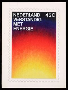 Otto Treumann - Dutch Stamp Design for 150 years of designs for the Dutch Postal Services
