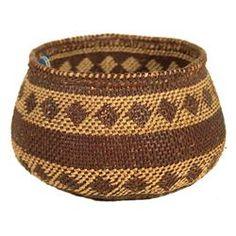 Paiute Indian Basket