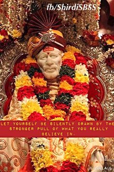 """""""Let yourself be silently drawn by the stronger pull of what you really believe in.""""   ❤️ॐOM SAI RAMॐ❤️  #sairam #shirdi #saibaba #saideva  Please share; FB: www.fb.com/ShirdiSBSS Twitter: https://twitter.com/shirdisbss Blog: http://ssbshraddhasaburi.blogspot.com  G+: https://plus.google.com/100079055901849941375/posts Pinterest: www.pinterest.com/shirdisaibaba"""